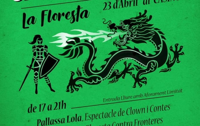 Díada de Santa Jordina en el Casino de La Floresta